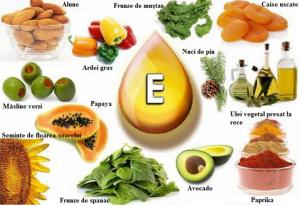 Alimente cu vitamina E